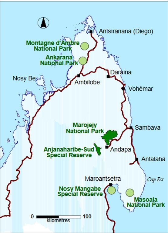 marojejy map